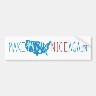 Make America Nice Again Bumper Sticker