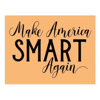 Make America Smart Again Anti-Trump Resistance Postcard