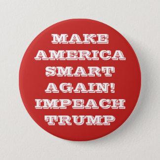 Make America Smart Again Protest Pinback Button