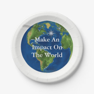 Make An Impact 7 Inch Paper Plate