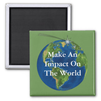 Make and Impact Square Magnet