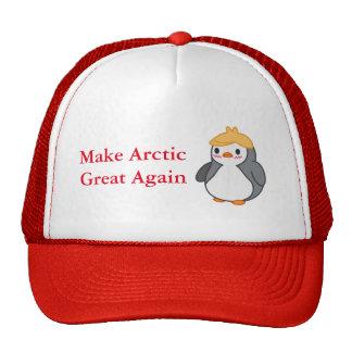 Make Arctic Great Again Save Penguins Hat