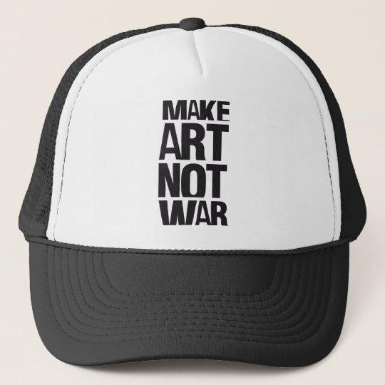 MAKE ART NOT WAR CAP