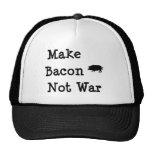 Make Bacon Not War-For Bacon Lovers Trucker Hat