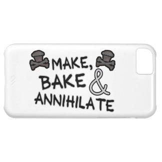 Make Bake & Annihilate Case For iPhone 5C