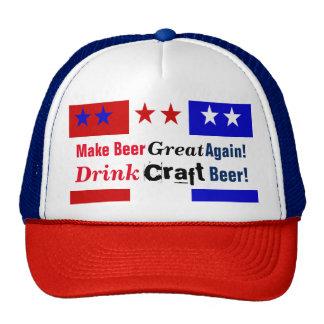 Make Beer Great Again-3 non grey Cap