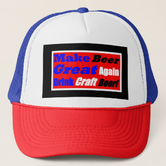 Make Beer Great Again-Box Style 2 Trucker Hat