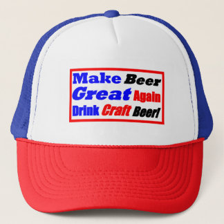 Make Beer Great Again-Box Style Trucker Hat