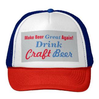 Make Beer Great Again- Grey Cap