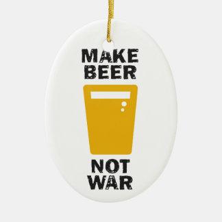 Make Beer, Not War Ornaments