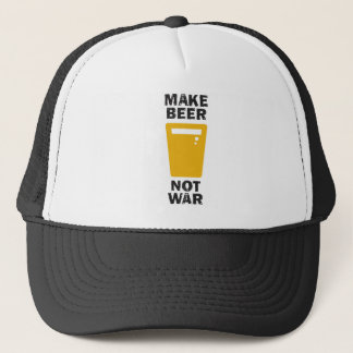 Make Beer, Not War Trucker Hat