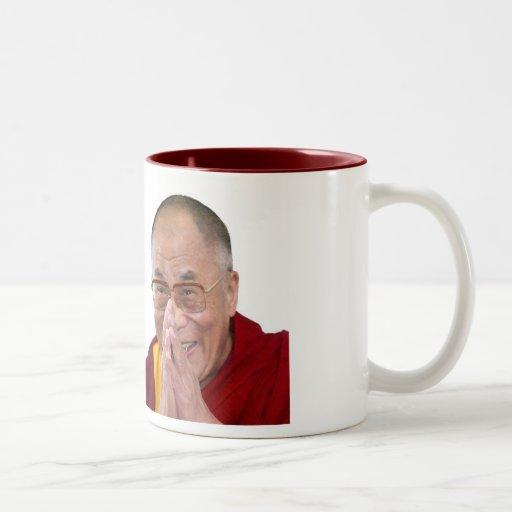Make Bliss Happen! - Dalai Lama Mugs