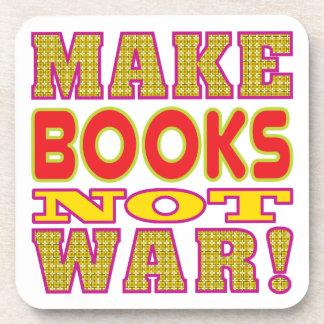 Make Books Beverage Coasters