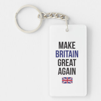 Make Britain Great Again UK First Flag #Brexit Key Ring