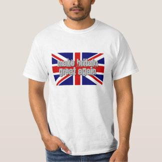 MAKE BRITAIN GREAT AGAIN Union Jack flag t shirt
