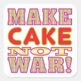 Make Cake v2 Square Sticker