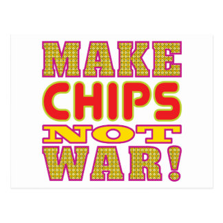 Make Chips Postcard