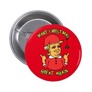 Make Christmas Great Again 6 Cm Round Badge