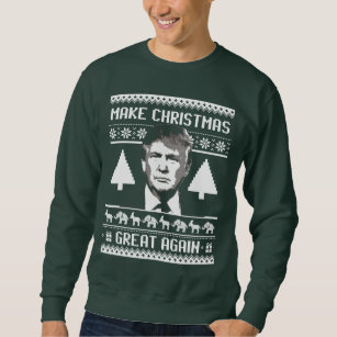 make christmas great again anti trump sweatshirt