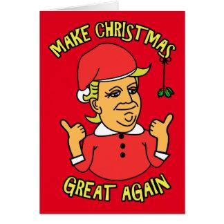 Make Christmas Great Again Card