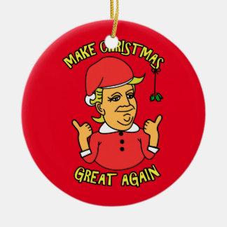Make Christmas Great Again Christmas Ornament
