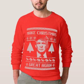 Make Christmas Great Again - Trump Christmas Sweatshirt