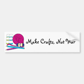 Make Crafts Bumper Sticker