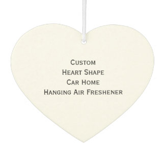 Make Custom Personalized Heart Hanging Photo Home Car Air Freshener