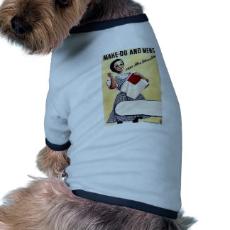Make - Do And Mend Ringer Dog Shirt