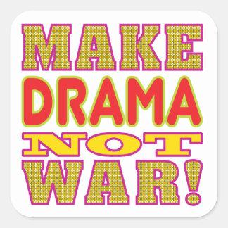 Make Drama Square Sticker