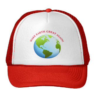Make Earth Great Again Cap