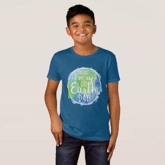 Make Everyday Earth Day Kids Shirt
