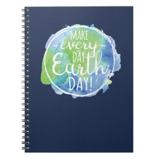 Make Everyday Earth Day Notebook
