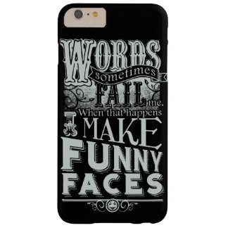 Make Faces Barely There iPhone 6 Plus Case