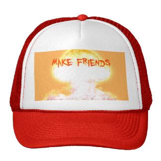'Make Friends' Trucker Hat