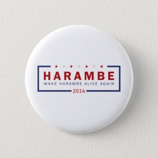 Make Harambe Alive Again 6 Cm Round Badge