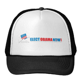 Make history Elect Obama Now. Hat