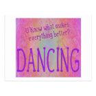 Make it all better - DANCE Postcard
