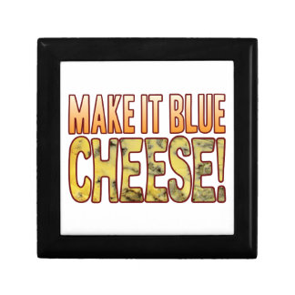 Make It Blue Cheese Small Square Gift Box