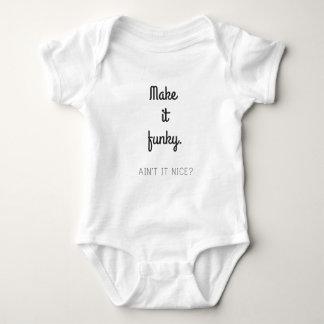 Make it Funky Baby Bodysuit