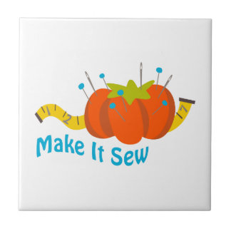 MAKE IT SEW SMALL SQUARE TILE