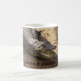 Make It Snappy Crocodile Mug