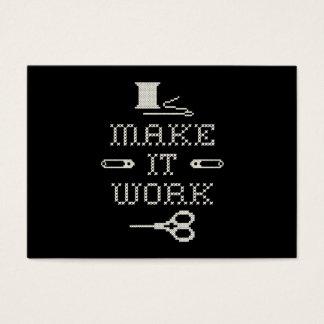 Make It Work Fashion Business Card