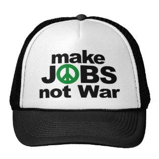 Make Jobs, Not War Hat