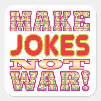 Make Jokes v2 Square Sticker