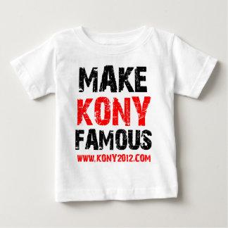 Make Kony Famous - Kony 2012 Baby T-Shirt