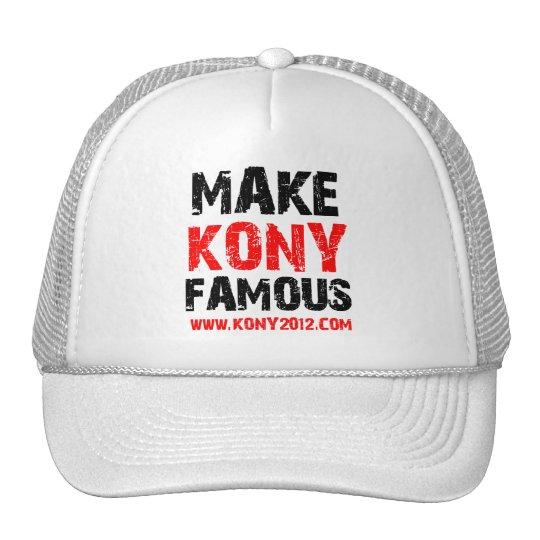 Make Kony Famous - Kony 2012 Cap