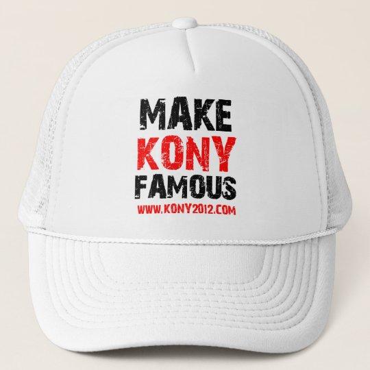 Make Kony Famous - Kony 2012 Trucker Hat