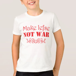 Make Lefse, Not War Funny Scandinavian T-Shirt