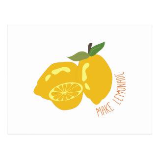 Make Lemonade Post Card